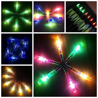 3/1Pcs Archery LED lighted Arrow Nock for Compound Bow Croosbow Outdoor Hunting*