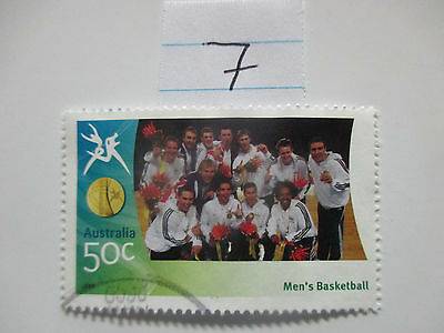 N o -7--2006 COMMONWEALTH  GAMES  -USED  50c  VALUES  ---A1  ORDER