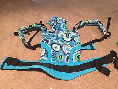 Manduca Baby Carrier Limited Edition Green Blue Swirls