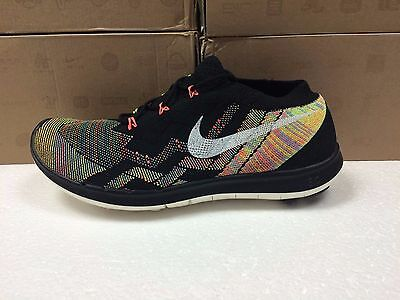 New Womens Nike Free 3.0 Flyknit 718420 011 Sneakers-Multiple Sizes