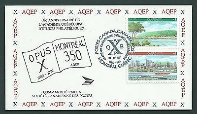 Canada - AQEP - OPUS X 1982-1992 - Montreal 350 - Rare Event Cover