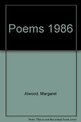 Poems 1976-1986 by Atwood, Margaret Paperback Book The Cheap Fast Free Post