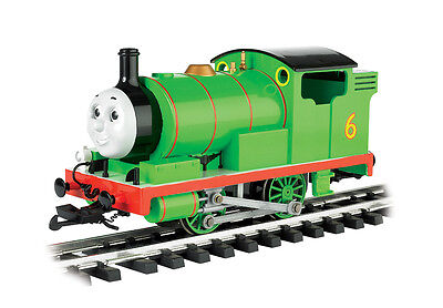 Bachmann G-Scale Thomas & Friends Percy The Small Engine & Moving Eyes 91402 NEW