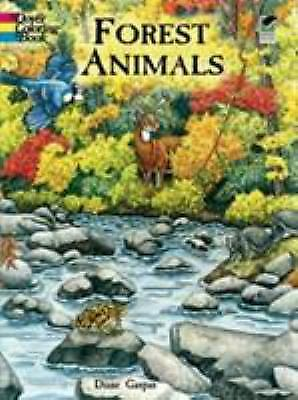 Forest Animals Coloring Book by Dianne Gaspas