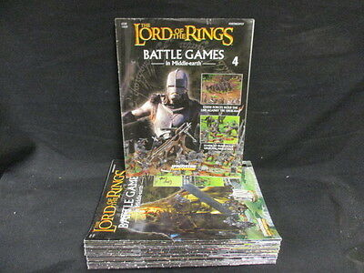 22 Lord Of The Rings; Battle Games In Middle Earth Magazines; Random #4-#31