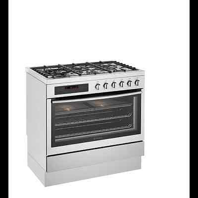 Westinghouse 90cm Dual Fuel Stainless Steel Freestanding Cooker Model: WFE916SA