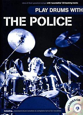 "The ""Police"" Play Drums with Sheet music"