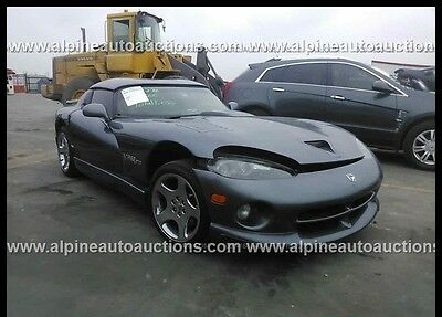 2000 Dodge Viper RT/10 2000 RT/10 Used 8L V10 20V Manual RWD Coupe Premium