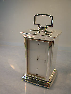 Masonic clock with concealed compartment Square & compasses