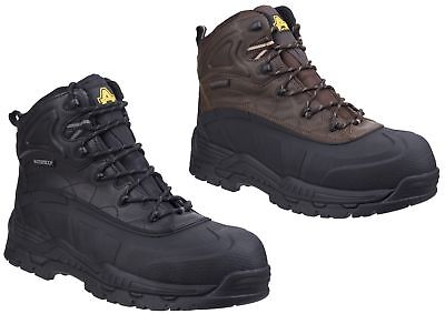 Amblers FS430 ORCA S3 Waterpoof black or brown SBP safety boot & midsole  6-12