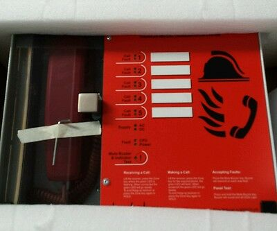 FireFone Five Zone Disabled Refuge System with Installer Manual Great Quality !!