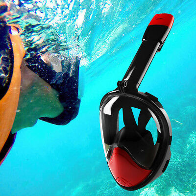 NEOpine FullFace Snorkeling Mask Scuba Diving Goggles W/ Breather Pipe for Gopro