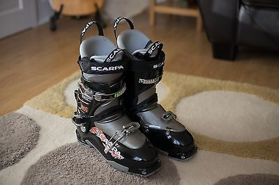 Scarpa Thrill 2015 Ski Touring Boots UK 10 (EU44, Mon 28.5)