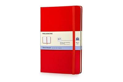 Moleskine classic Red Cover, Large Size, Sketchbook