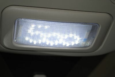 Fiat 500 Interior Light Lamp White LED 500 logo Easy Fit New + Genuine 71806069