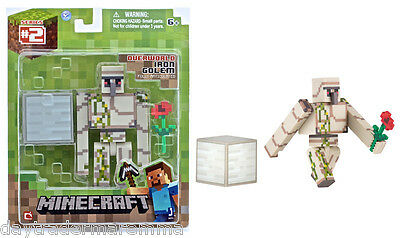* 30 Day Special* MINECRAFT - Iron Golem With Accessories #Item 16511