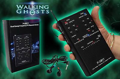 PSB-11 Spirit Box Dual Sweep ITC FM/AM PSB11 Ghost Radio Paranormal Equipment UK