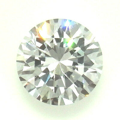 0.50CT (5.20mm) Round Cut D Color My Russian Diamond Simulated Lab Created Loose