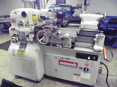 """MONARCH 10EE 10"""" x 20"""" Precision Toolmakers Lathe - Late Model , Inch/Metric"""