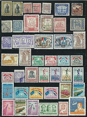 Paraguay - 68 mixed stamps - Years 1908  to 1975....included B.O.B.