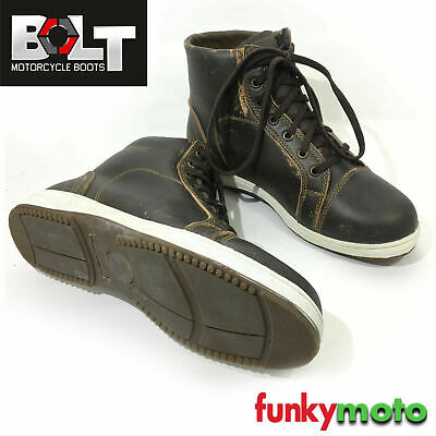 Bolt C20 Motorcycle Sneaker Boot Waterproof Black Casual Atv Quad Mens Trainer