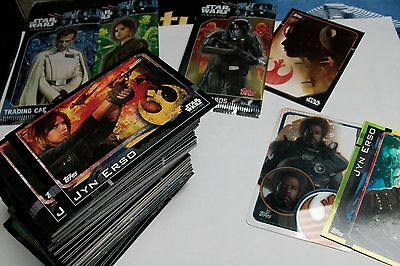 Lot Star Wars Rogue One Topps Version Francaise