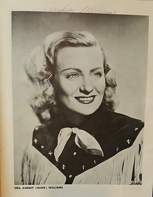 1950's Era Grand Ole Opry Picture Program with Autographs
