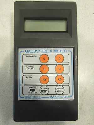 F.W. Bell Gauss/Tesla Meter 4048, Comes with Hard Case, Great Deal!
