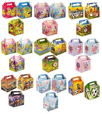 PARTY (Food/Lunch) BOXES - Range of Themes/Occasions/Patterns {Card} Henbrandt