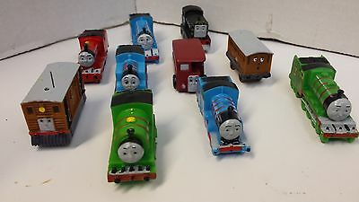 Thomas The Train & Friends - Birthday Cake Toppers - Lot of 10 Miniatures