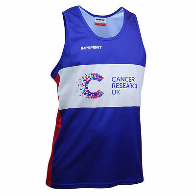 Cancer Research UK Running Vest Top - Official 2017 Charity Kit