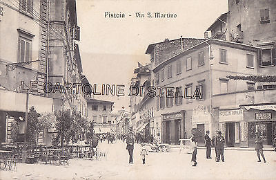 Cartolina Toscana Pistoia, Via S.martino - Modiano - V 1916-