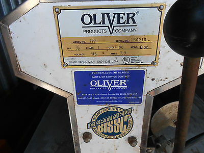 Oliver Automatic Bread Slicer Model 777 - Needs Blades & Wheels - Industrial