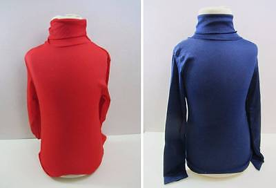 vintage childrens polo neck jumpers ski base layer skin ages 8 12 13