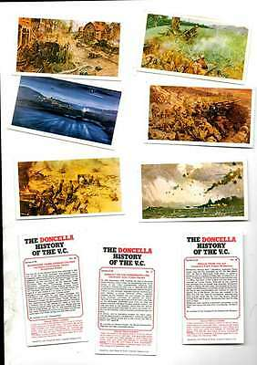 History Of The Vc.  Full Set Doncella 1980 Issue Ex/mint