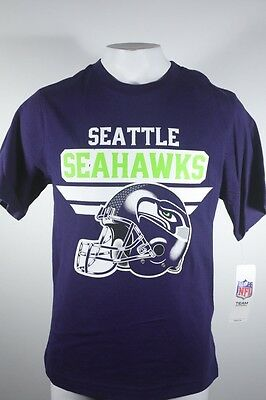 d0b229844 New NFL Seattle Seahawks Official Youth Size Team Apparel T-Shirt Football  NWT