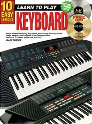 10 Easy Lessons Keyboard Paperback