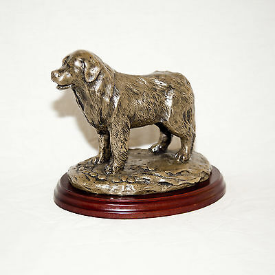 NEWFOUNDLAND  Bronze Figurine. Hand made in England. Ideal gift.