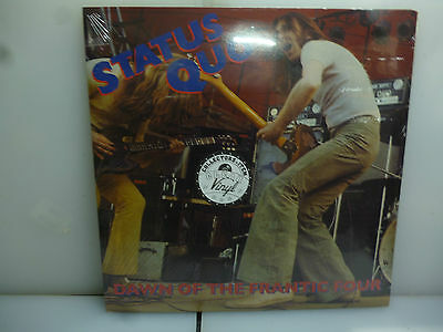 Status Quo-Dawn Of The Frantic Four. Sweden 1971-Clear Vinyl Lp-New.sealed