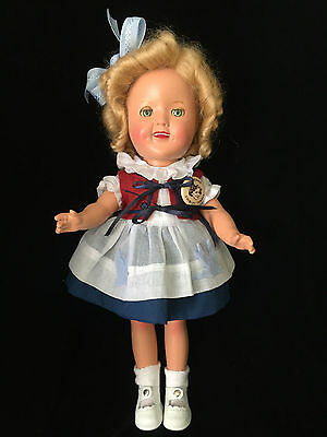 """Composition 11"""" Shirley Temple Doll by Ideal"""