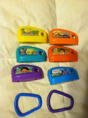 6 Fisher Price Smart Cycle Game Cartridge Lot