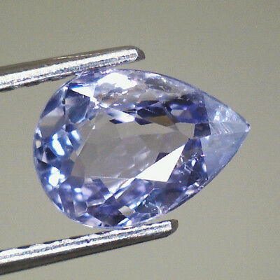 Tanzanite Naturale Ct.0,79 Goccia  Intrattata  Vs  Brillante