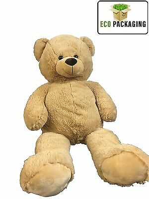 Teddy Bear Extra Large 100 Cm Soft Huge Brown Stuffed Big Giant Cuddly