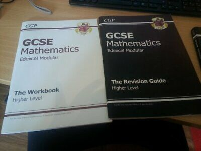 CGP GCSE Maths Edexcel Revision Guide and Workbook by Richard Parsons B00F3EI8XE