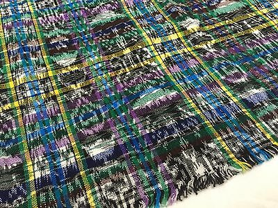 STUNNING Handwoven IKAT Textile, Wrap, Multicolor, WOW!!! (RF341)