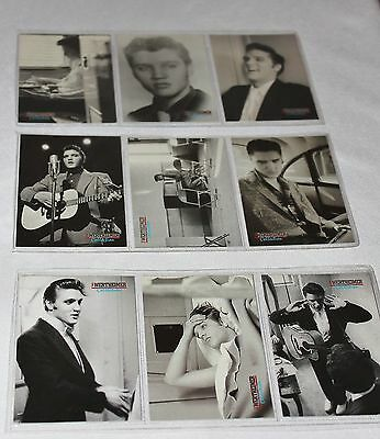 Elvis Presley Photo Collector Cards Wertheimer Collection Set of 9