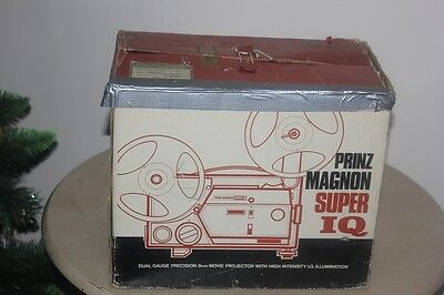 PRINZ MAGNON Super IQ Projector 8mm SUPER 8 AND STANDARD USE TO COPY TO DIGITAL