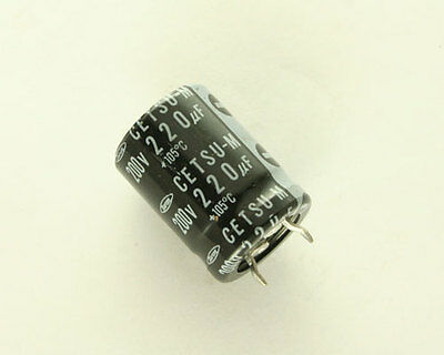 10 Pieces of Marcon 470uF 200V Aluminum Electrolytic Snap In Capacitor