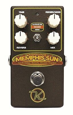 Robert Keeley Effects Pedal, Memphis Sun – Lo-Fi Reverb, Echo and Double-Tracker
