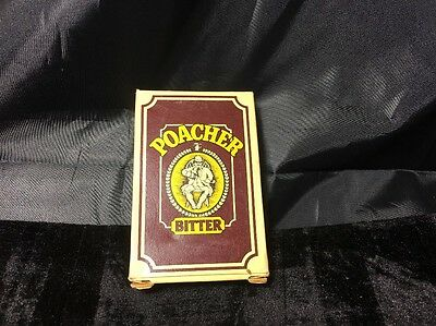 Poacher Bitter By Whitbread Playing Cards 1970? Collectable Rare Authentic